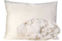 Cotton Pillow Medium Fill